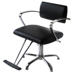 AR-2109-B Veneto Styling Chair with 5 Star Base - Black
