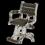 AR-A046-D Addison Styling Chair on 5-star Base - Black