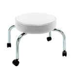 Four Leg Pedi-Stool White