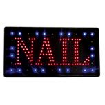 Nail LED Sign