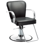 Chromium Cr24-01 Styling Chair with Chrome Base