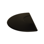 3x5 Tranquility Black Mat