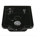Alpha Porcelain Shampoo Bowl #3800 Black