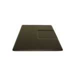 4045SS 4 x 4.5 Black Rectangle Mat With Chair Depression