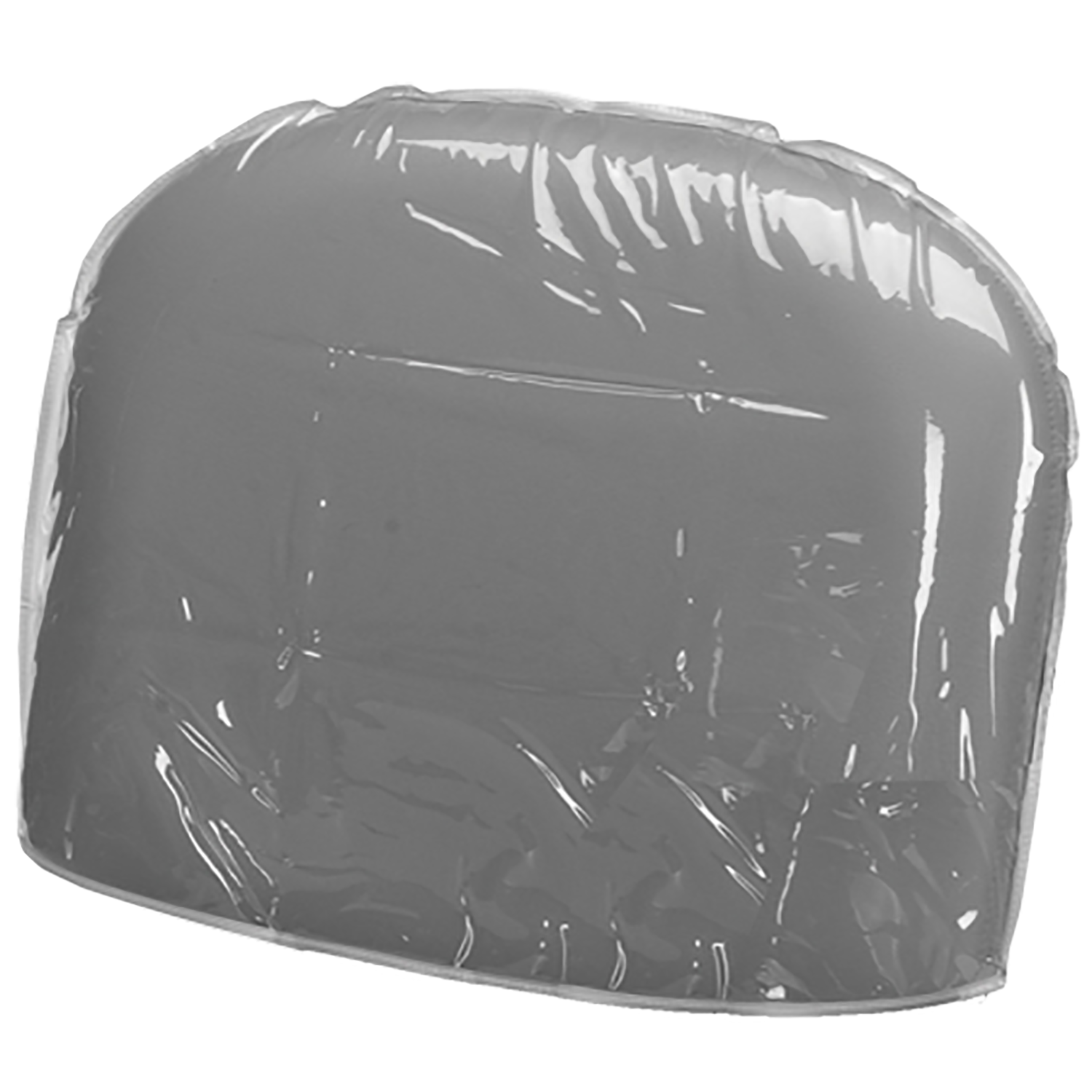Clear Vinyl Chair Back Cover For Auto Recline Shampoo Chair at