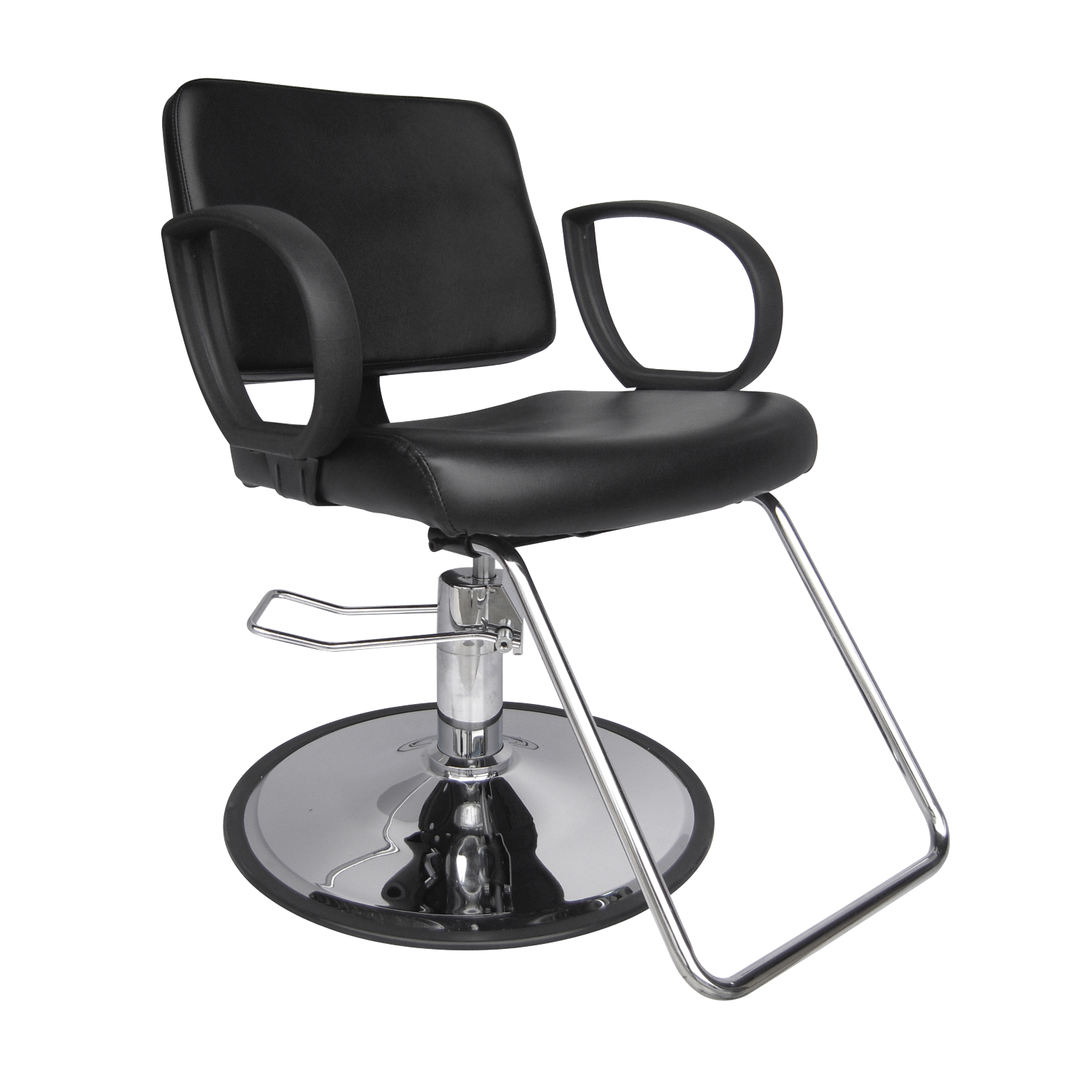 sc 1 st  CosmoProfEquipment.com & Hannah Styling Chair with Chrome Base at CosmoProf Equipment
