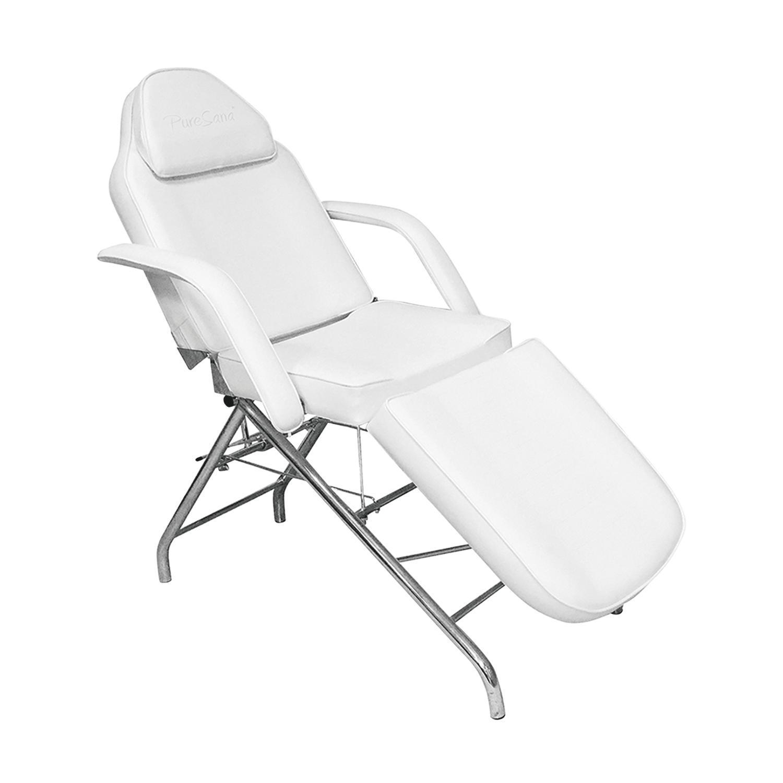 PureSana Adjustable Facial Chair White at CosmoProf Equipment