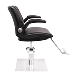 Kinsley Styling Chair With Moveable Armrest