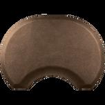 Granite Copper Round Mat with Chair Depression