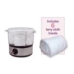 Small Towel Steamer Set