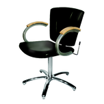 9731L Vanelle SA Shampoo Chair - Black