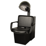 611.2.D Bravo Dryer Chair Black with K500 Dryer