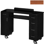 Curve Nail Table Wild Cherry