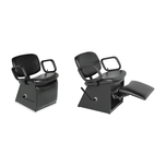 QSE 1850L Shampoo Chair with Kick-out Legrest
