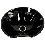 Black 8200 Tilting Porcelain Shampoo Bowl