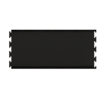 4.5' Infinity Elite Series Center Puzzle Section in Black