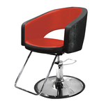 Bristal Styling Chair - Red Interior Black Exterior