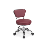 Dayton Pedicure Stool Red