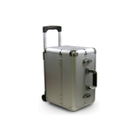 Professional Aluminum Beauty Case Silver