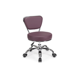Dayton Pedicure Stool Burgundy