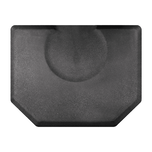 4 X 5 Granite Steel Mat with Chair Depression