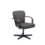Brown Chromium Shampoo Chair