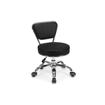 Mayakoba Dayton Pedicure Stool Black