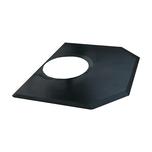 Comfort Craft 4'X5' Black Hexagon Salon Mat