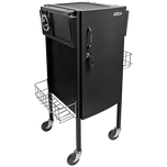 JLS-500 Metal Trolley Black