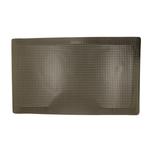 Reflex 3'x5' Black Rectangle Salon Mat