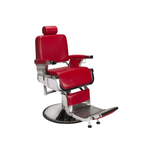 Berkeley Lincoln Barber Chair Red