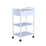 Fai Single Drawer with two Shelf Cart