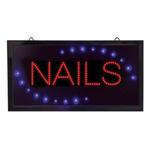 Nails LED Sign