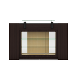 Mayakoba Berkeley Reception Table With Display - Brown