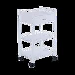 Fai 2 Single Drawer with two Shelf Cart