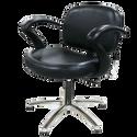 Cella Shampoo Chair with 5-Star Chrome Base