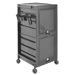Modern Elements Locking Deluxe Trolley