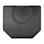 Granite Steel Mat with Chair Depression