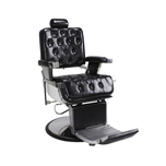 Berkeley Rowling Barber Chair - Black