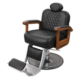Cavalier Barber Chair with Oak Arms
