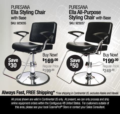 Puresana Brooklyn Styling Chair
